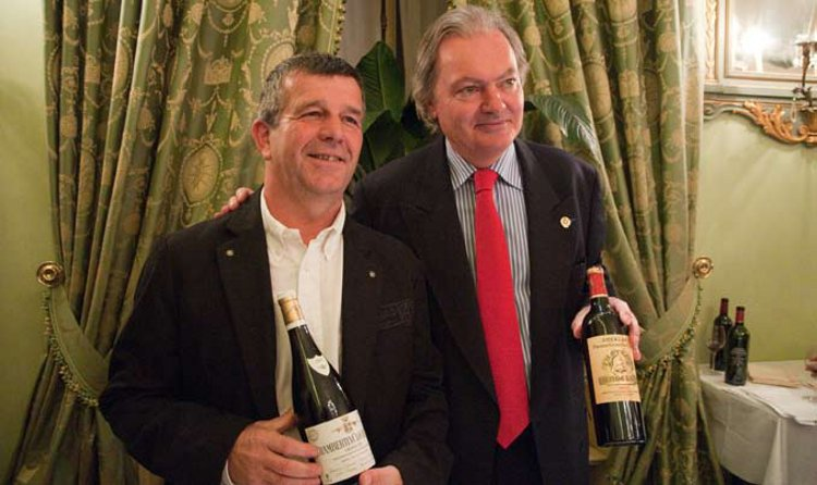 Among the distinguished producers who attended and who showed their wines were Eric Rousseau and Hubert de Boüard de Laforest of Château Angélus