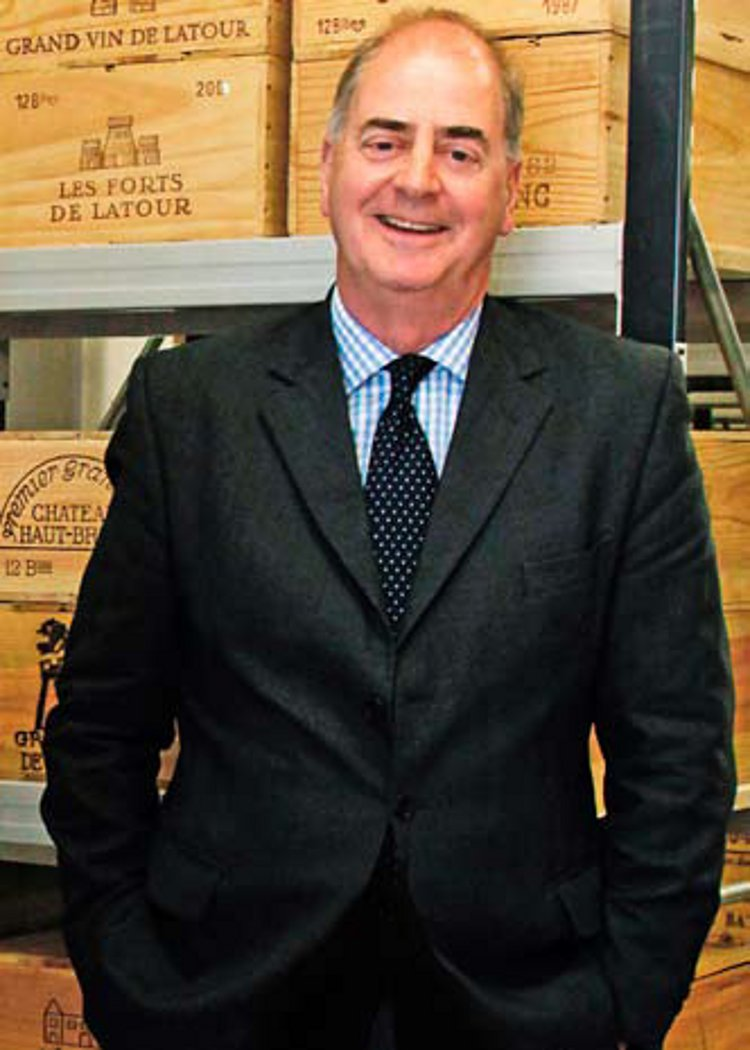 Richard Harvey MW of Bonhams, who is keen to broaden the auction market