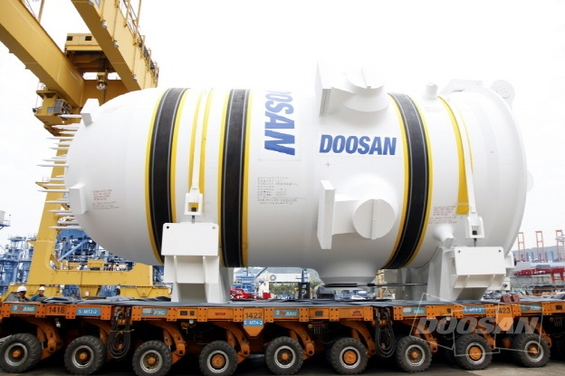 Reactor pressure vessel for Shin Hanul nuclear plant in South Korea
