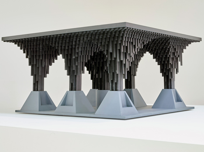 David Adjaye's model for the new Johannesburg station