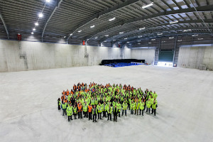 Ceremony marking the hand-over of two LLW stores at Dounreay