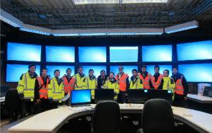 Sanmen AP1000 main control room