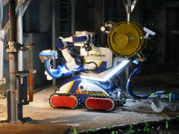 MEISTeR robot is used at Fukushima Daiichi