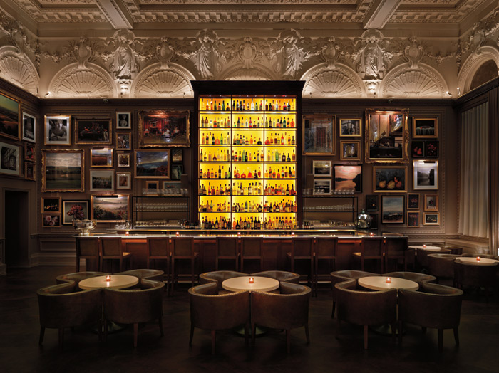 Edition London. Edition hotels are a new venture between Ian Schrager and Marriott. Photo Credit: Nikolas Koenig