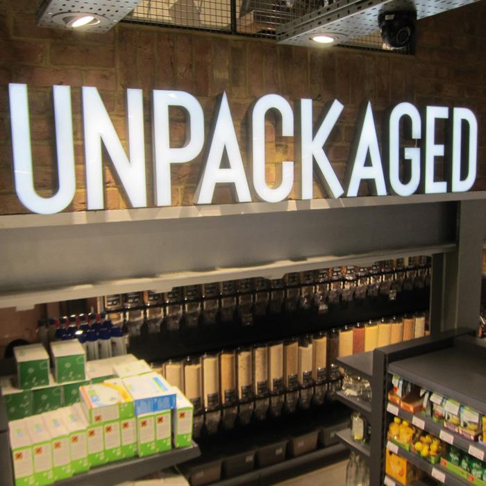 Original refill store Unpackaged, in Islington