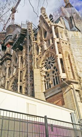 Data centre and Sagrada Familia