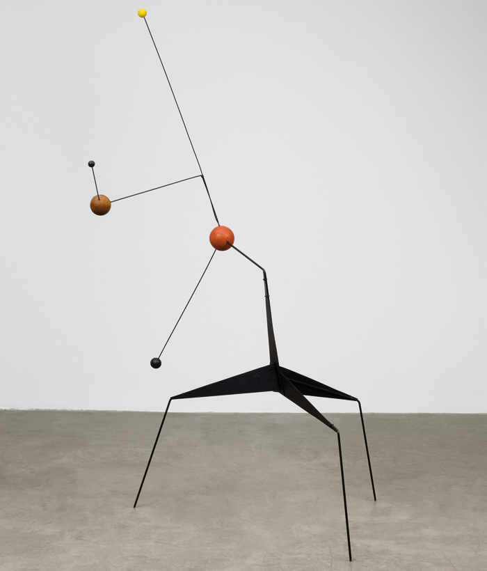 Morning Star. Painted sheet steel, steel wire, wood, paint (1943). Image Credit:  2015 Calder Foundation, New York / DACS, London
