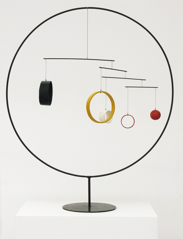 Red and Yellow Vane, sheet metal, rod, wire, lead and paint (1934). Image Credit: 2015 Calder Foundation, New York / DACS, London