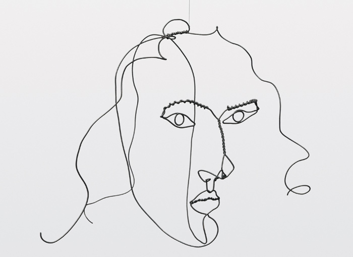 Medusa. Wire (1931). Image Credit:  2015 Calder Foundation, New York / DACS, London