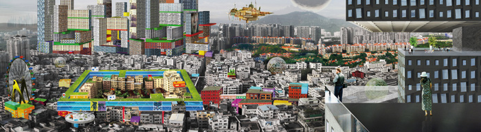 Hyper Metropolis — Speculations on Future Hybrid Lifestyle in Shenzhen, by Urbanus. Photo Credit: Courtesy Urbanus