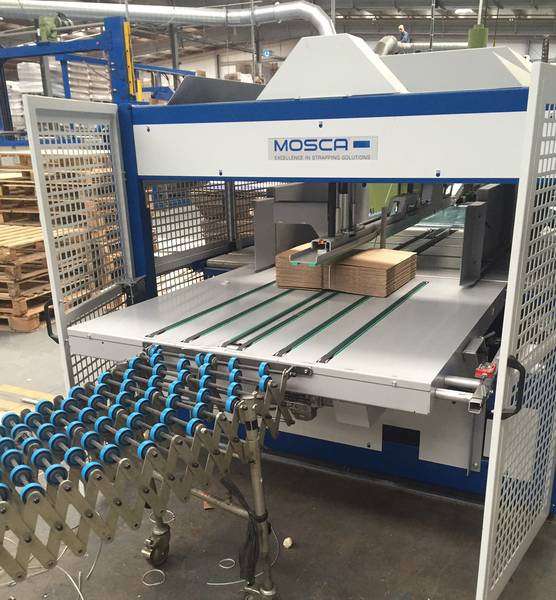 mosca strapping machine