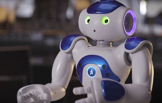 Hilton hotel robot concierge