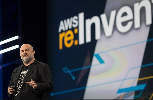 Werner Vogels at Re:Invent