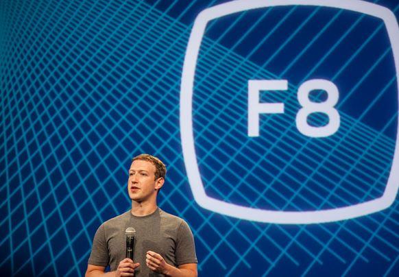Zuckerberg F8 Developer Conference.