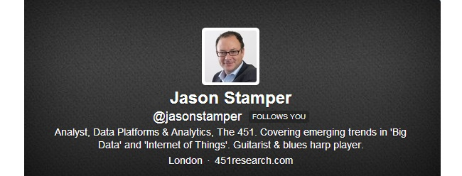Jason Stamper