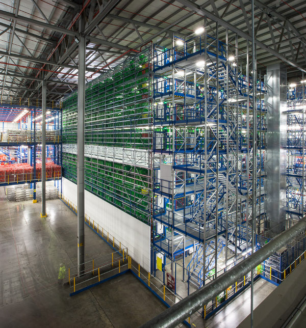 ocado warehouse