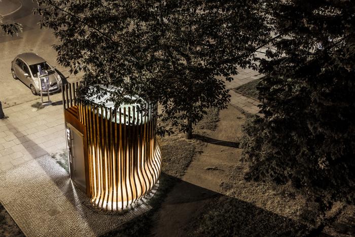 Puplic toilet, Gdansk Schleifer & Milczanowski Architekci  Location: Poland