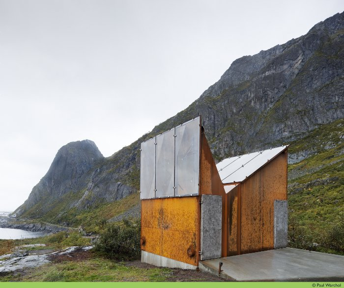 Public toilet design Manthey Kula Architects Roadside Reststop Akkarvikodden