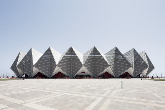 Baku Crystal Hall GMP Architekten