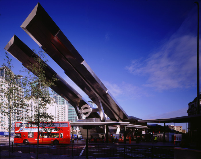Vauxhall bus station, London by Arup