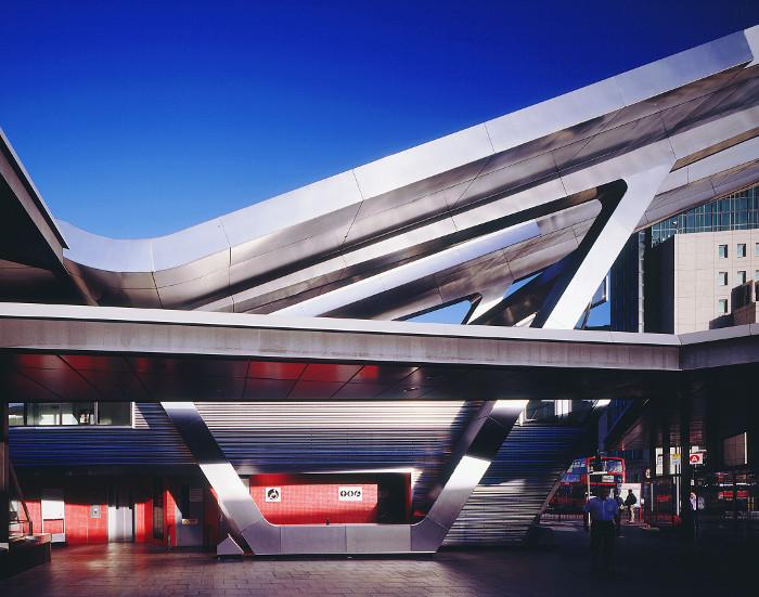 Vauxhall bus station, London