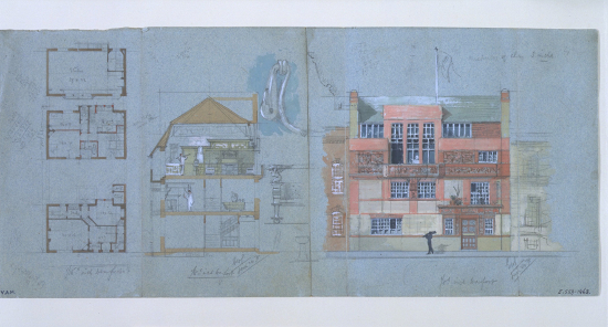 5._Design_for_an_artists_house_and_studioTite_Street_Chelsea_Edward_William_Godwin_1878._Victoria_and_Albert_Museum_London