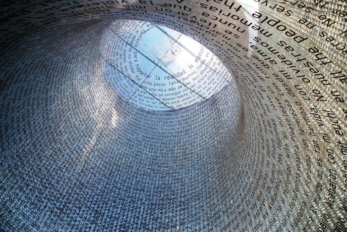 Monumento Victimas 11-M, Madrid, Spain, 2006-7