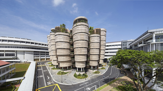 Learning Hub at Nanyang Technological University-organic-architecture-designcurial