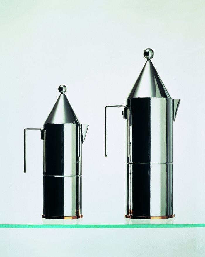 La Conica espresso maker by Aldo Rossi