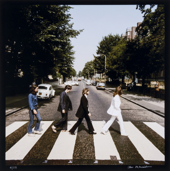 outtakes from beatles 39 classic abbey road album cover designcurial. Black Bedroom Furniture Sets. Home Design Ideas