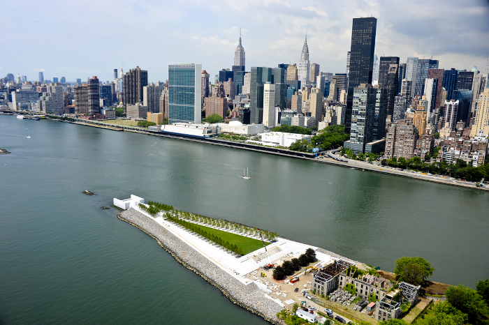 Franklin D. Roosevelt Four Freedoms Park, New York, 1973-2012, Louis Kahn _ Photo www.amiaga.com