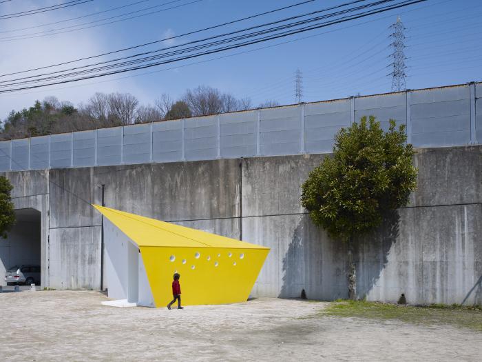 Hiroshima Park Restrooms Future Studio