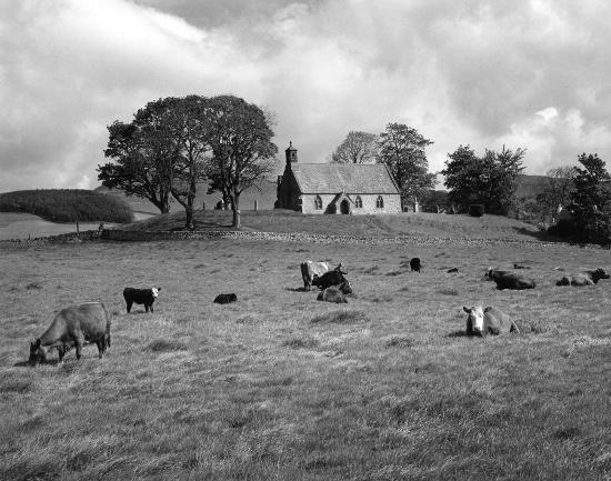 Lyne Church, Peebles, Scotland 1967 (c) Edwin Smith, RIBA Library Photographs Collection