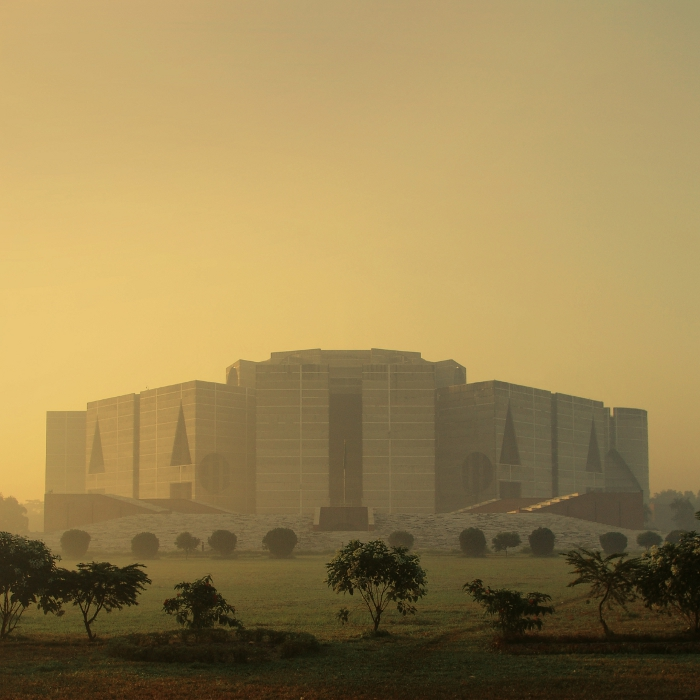National Assembly Building in Dhaka, Bangladesh, Louis Khan, 1962-83