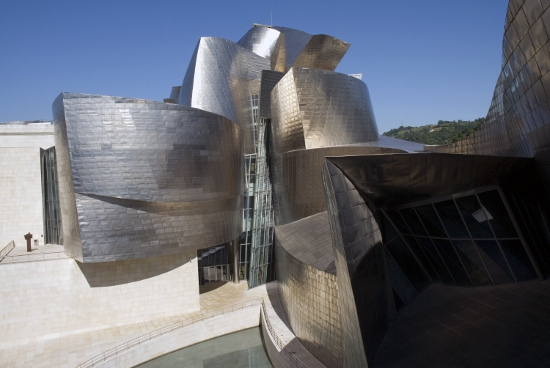 The New Guggenheim, Bilbao, by Frank Gehry