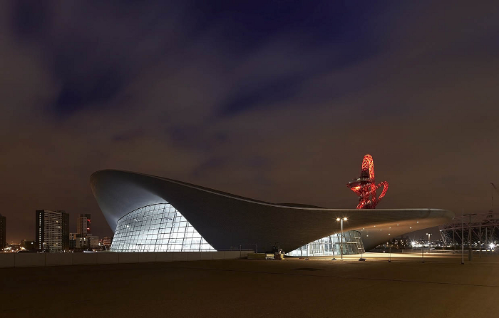 London Aquatics Centre  Design: Zaha Hadid Architects