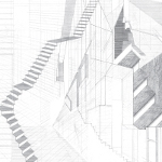 ascade House staircase by PATALAB architecture