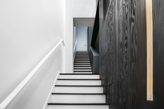 Cascade House staircase by PATALAB architecture