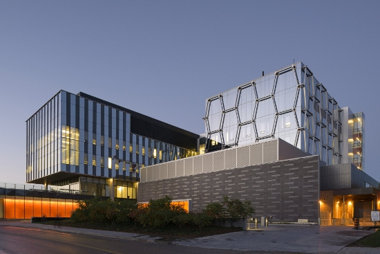 Mike & Ophelia Lazaridis Quantum-Nano Centre, Waterloo, Canada, by KPMB Architects