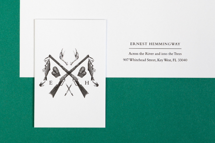 Imaginary business cards for famous historical figures