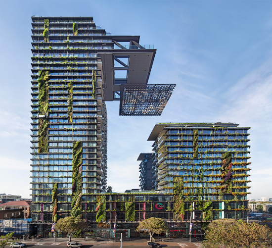 One Central Park, Sydney, by Jean Nouvel, and Patrick Blanc