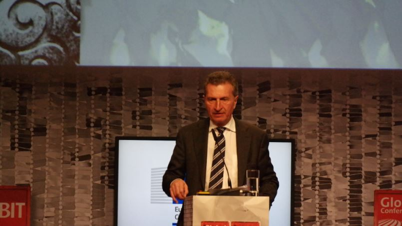 Günther Hermann Oettinger, European Commissioner for Digital Economy and Society