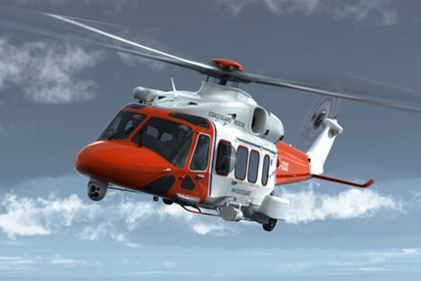 Aw189 search and rescue helicopter