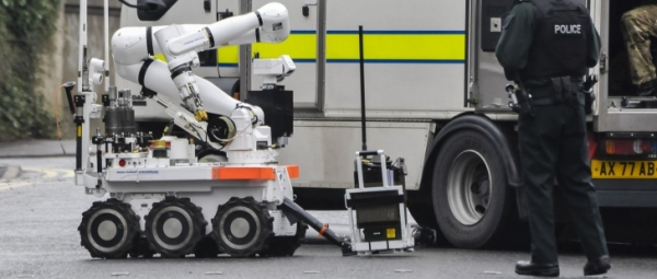 CUTLASS bomb disposal robot