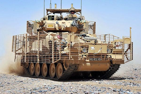 Scimitar tank in Iraq