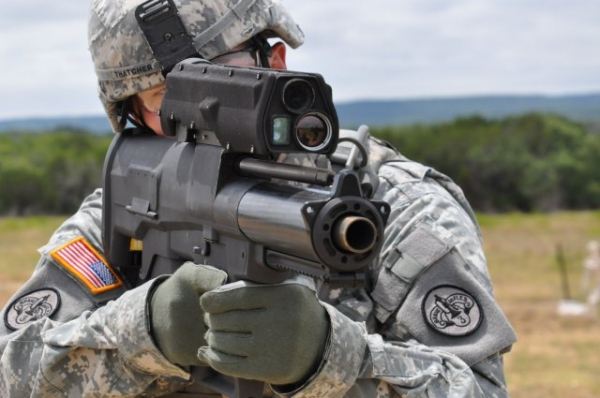 XM-25 Punisher smart wweapon