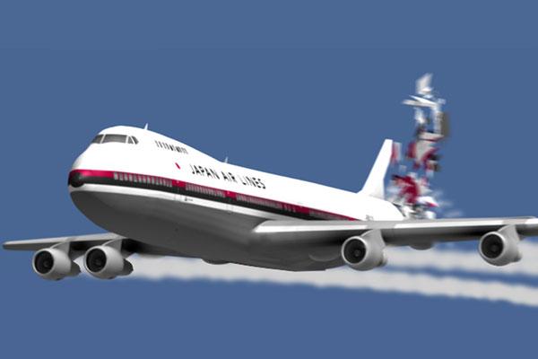 Japan flight 123