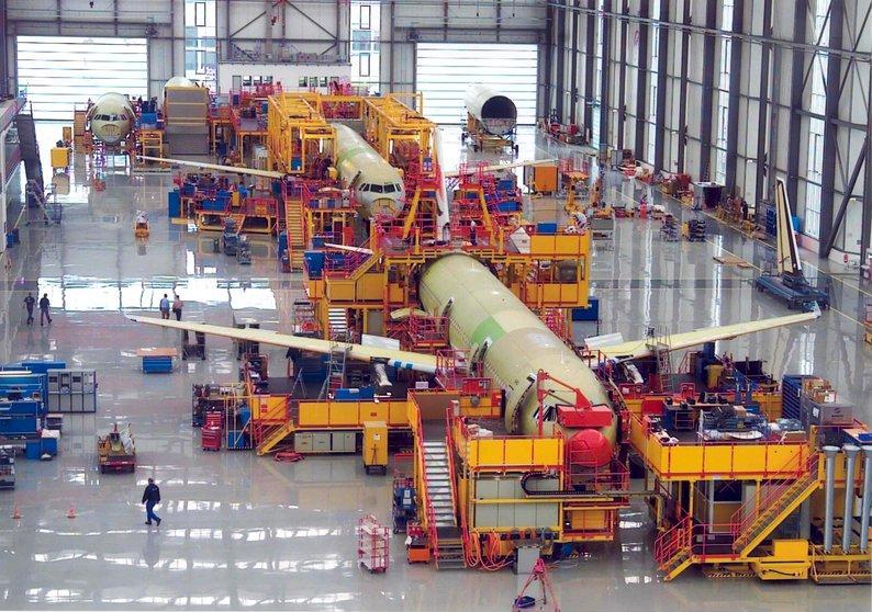 Dürr to integrate aircraft assembly technology business ...