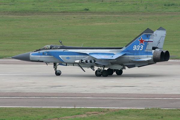 MIG 31 fighter jet