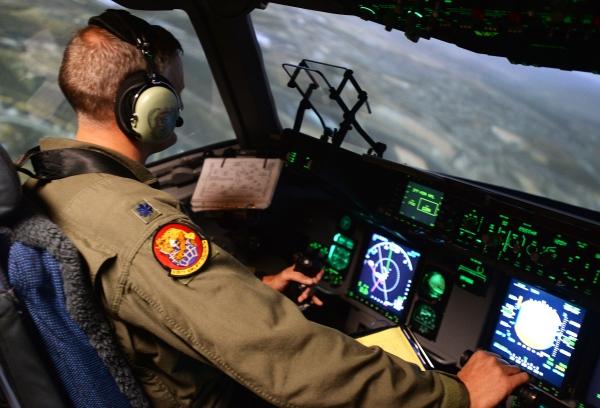 C-17 military game aircraft simulator